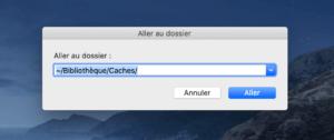 Nettoyer les caches de système et les caches utilisateur sur macOS