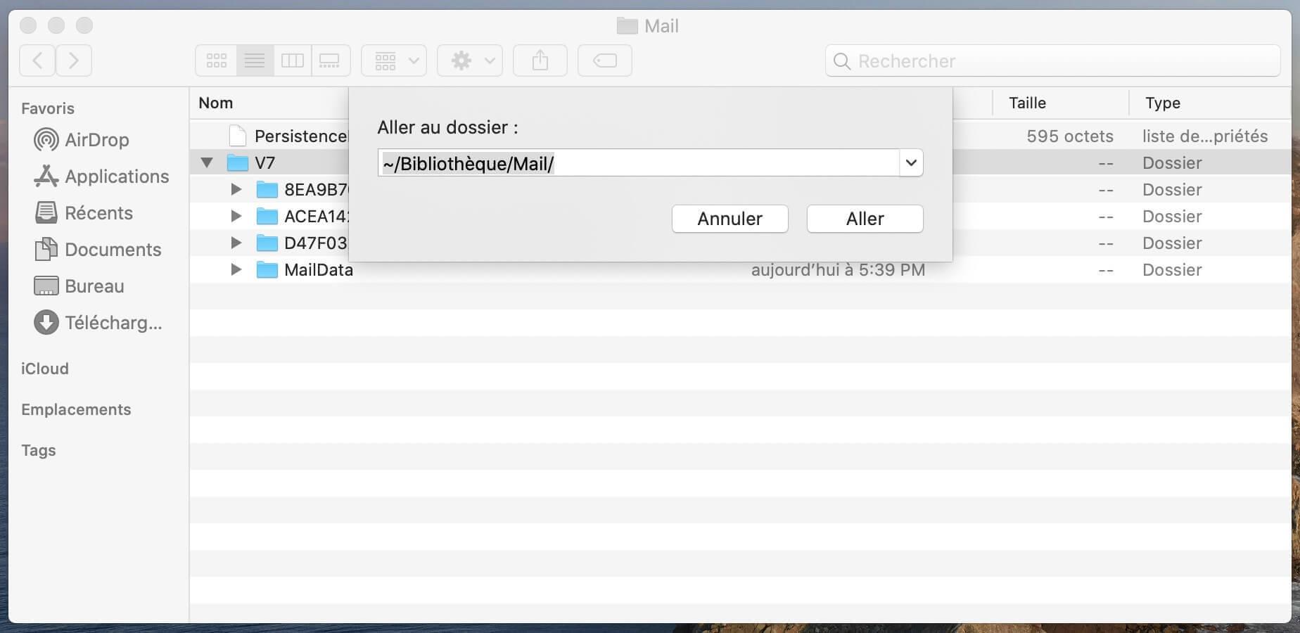 MailData