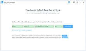 « Télécharger » pour obtenir le firmware nécessaire