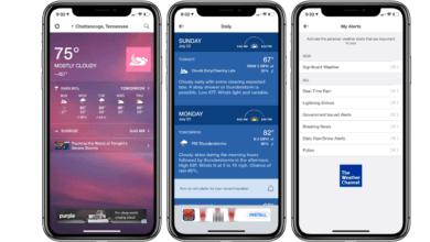 Photo of Meilleures applications météo pour iPhone et iPad en 2020
