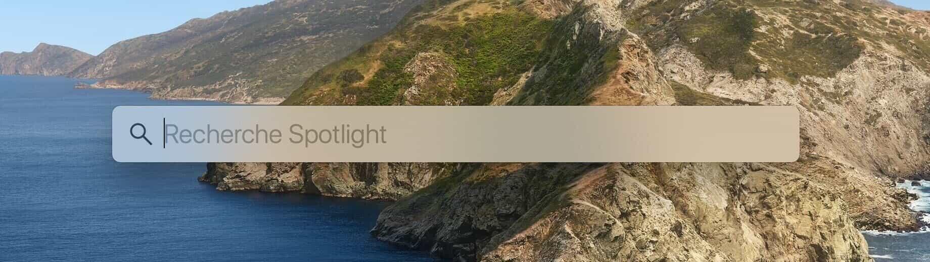 recherche Spotlight