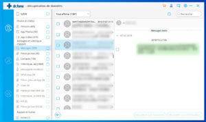 Prévisualiser et récupérer les messages (textos) de votre iPhone