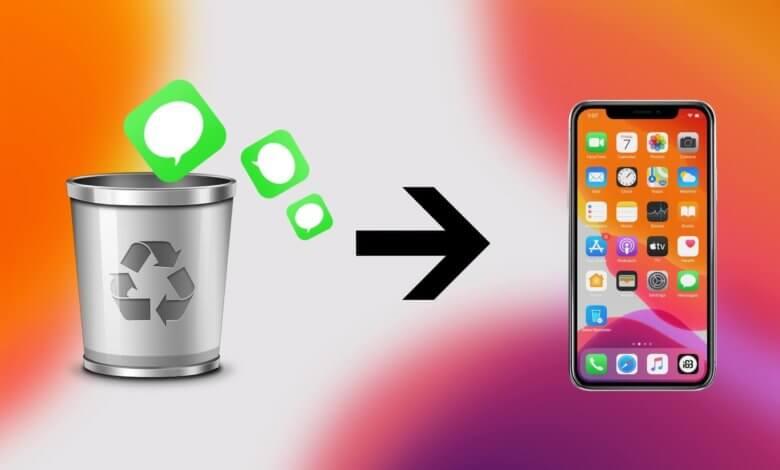 récupérer les messages (textos) d'un iPhone