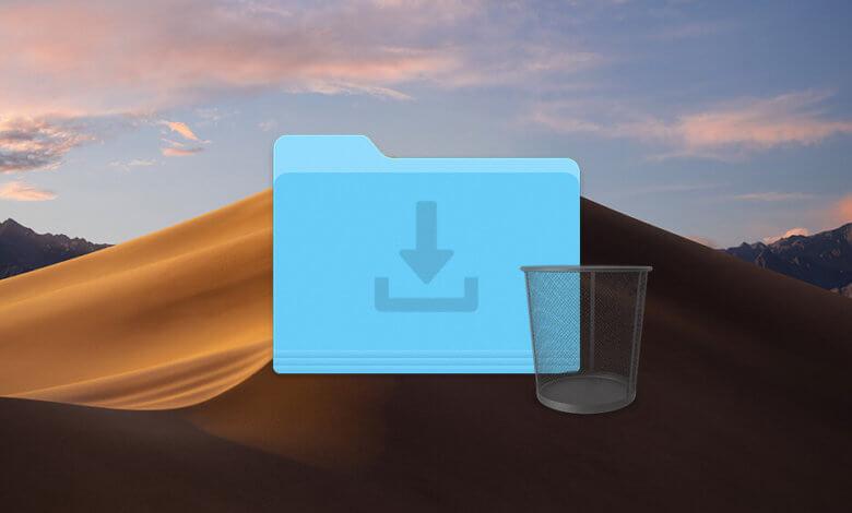 supprimer les fichiers de Téléchargements sur Mac