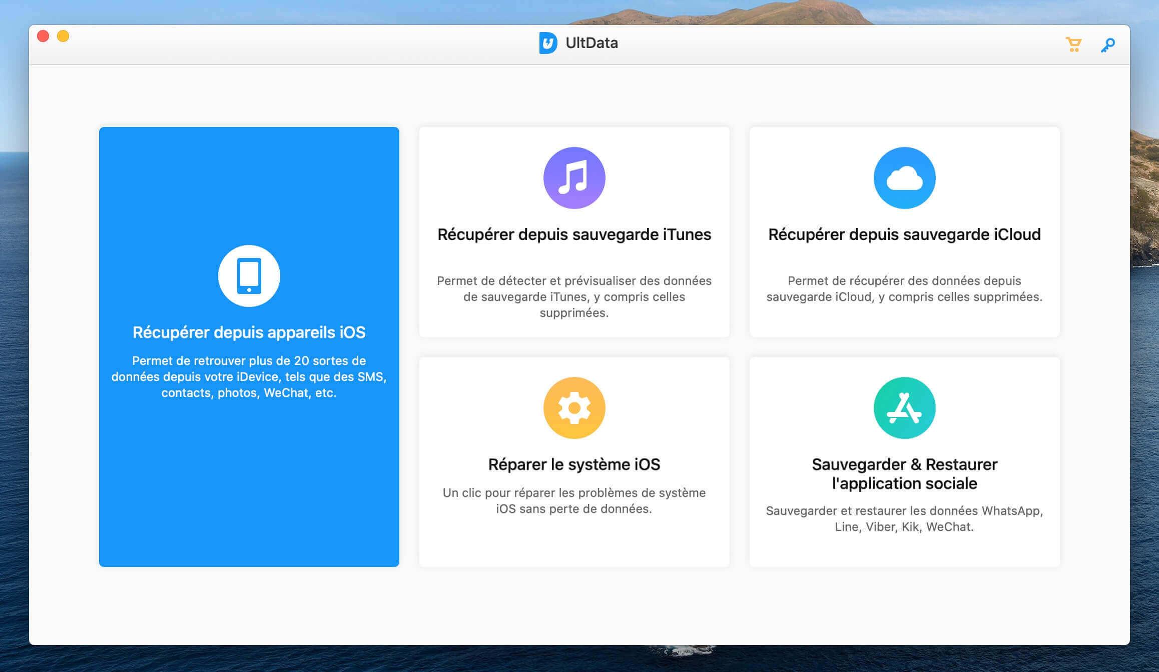 Tenorshare Ultdata pour Mac