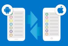 Photo of Comment transférer les contacts d'un appareil Android vers un iPhone